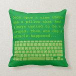 Keypad 2-sided pillow 3B