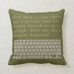 Keypad 2-sided pillow 4B