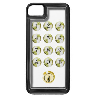 Keypad and lock iPhone SE/5/5s case