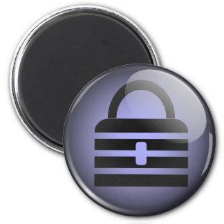 Keypass Button Symbol 2 Inch Round Magnet
