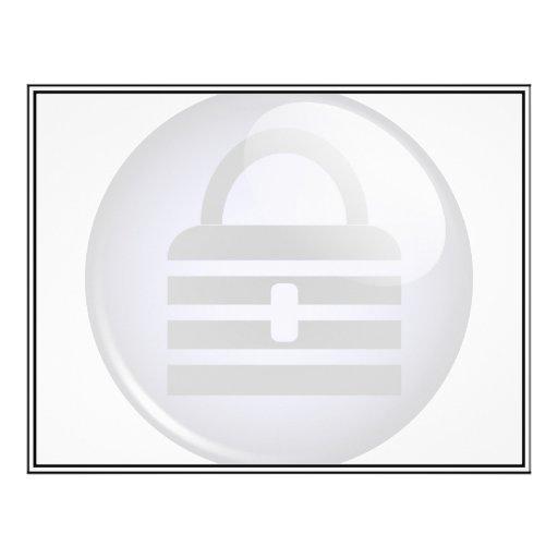 """Keypass Button Symbol 8.5"""" X 11"""" Flyer"""