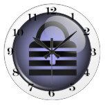 Keypass Button Symbol Clock