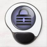 Keypass Button Symbol Gel Mouse Pad