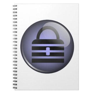 Keypass Button Symbol Notebook