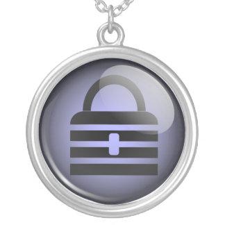 Keypass Button Symbol Pendant