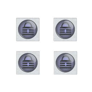 Keypass Button Symbol Stone Magnet