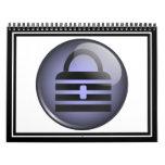 Keypass Button Symbol Wall Calendars