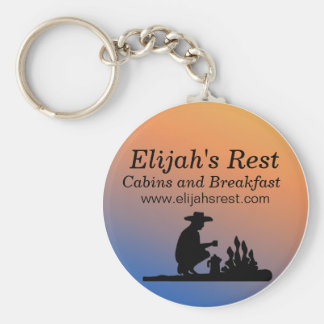 keyRing1, Elijah's Rest, Cabins and Breakfast, ... Keychain