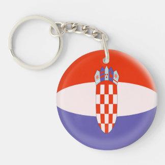 Keyring Croatia Croatian flag