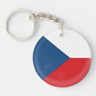 Keyring Czech Republic flag Keychain
