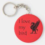 Keyring - Liverpool Liverbird Keychains