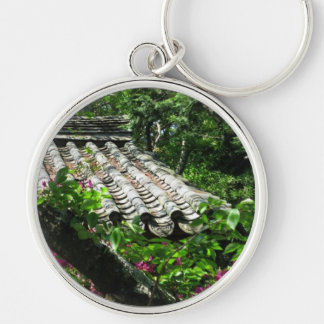 Keyring-Roof Flowers Key Chain