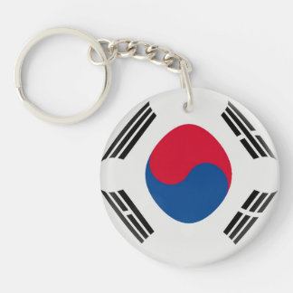 Keyring South Korea flag