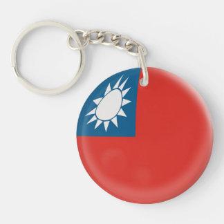 Keyring Taiwan Taiwanese flag