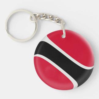 Keyring Trinidad & Tobago flag Keychain