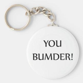 Keyring - You Bumber Basic Round Button Keychain