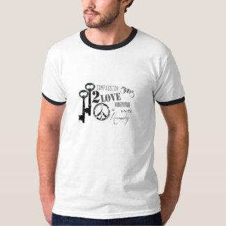 Keys 2 Peace Design #2 T-Shirt