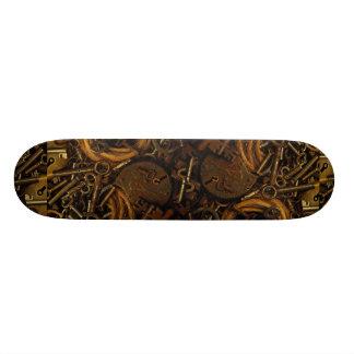 Keys and Locks Custom Skateboard