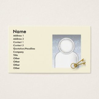 Keys - Business Business Card