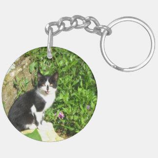keys & cats keychain