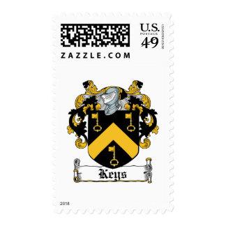 Keys Family Crest Stamp