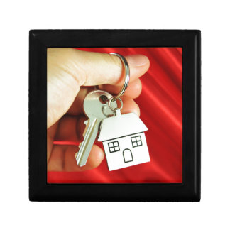 Keys for a new home! gift box