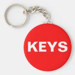 Keys Keychain