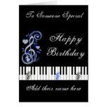 Key's Lof Love_ Greeting Card