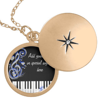 Key's Lof Love_ Locket Necklace