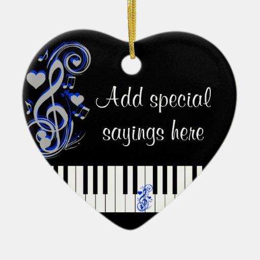 Key's Lof Love_ Ornaments