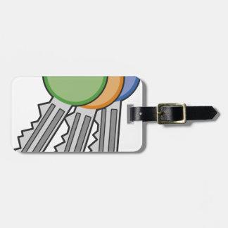 Keys Luggage Tag
