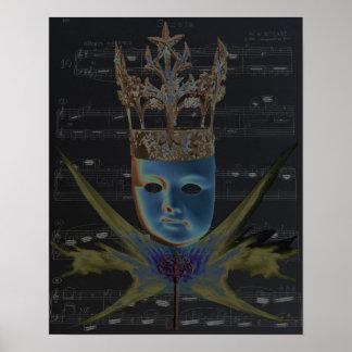 Keys of Life 1 Poster by Violet Tantrum