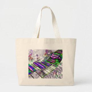 Keys of my heart#2_ large tote bag