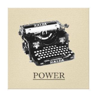 Keys of Power Print Canvas Print