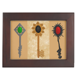 Keys of Time Keepsake Box