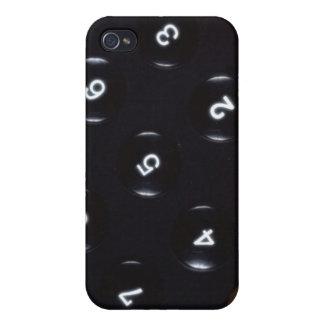 Keys on a calculator iPhone 4/4S case