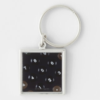 Keys on a calculator keychain