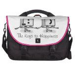 Keys to Happines Laptop Bag