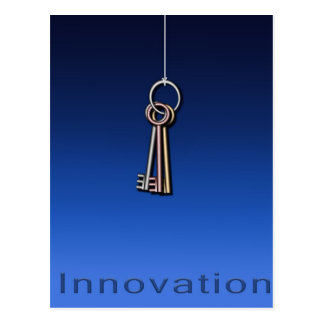 Keys to Innovate Postcard