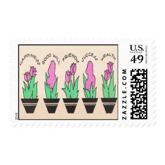 Keys to Life Postage Stamp