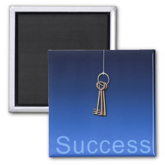 Keys to Success 2 Inch Square Magnet