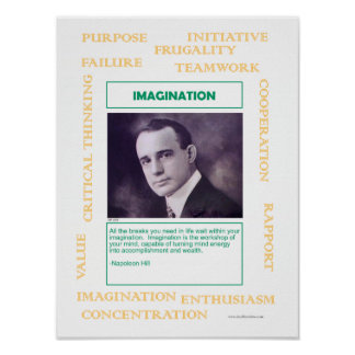 Keys to Success:  Imagination Poster