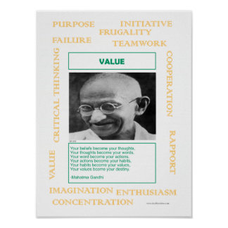 Keys to Success:  Value Poster
