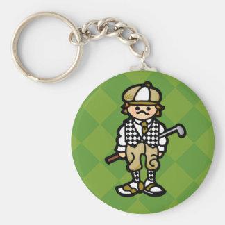 keys to the golf cart. keychain
