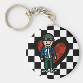 keys to the scooter. keychain