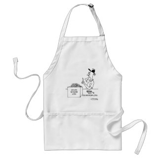 Keys With No Known Locks Adult Apron