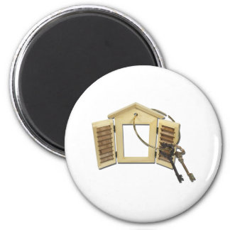 KeysOnShutteredWindow090312.png 2 Inch Round Magnet