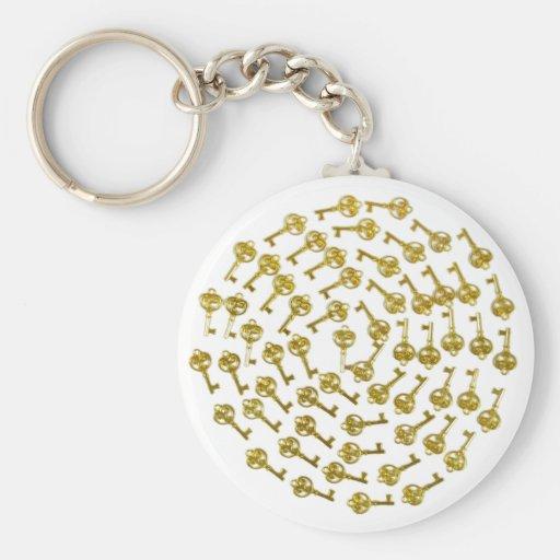 KeysSuccessSpiral032809 Keychain
