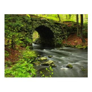 Keystone Bridge Quabbin Reservoir Postcard