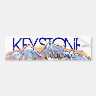 Keystone Colorado artistic mountain sticker